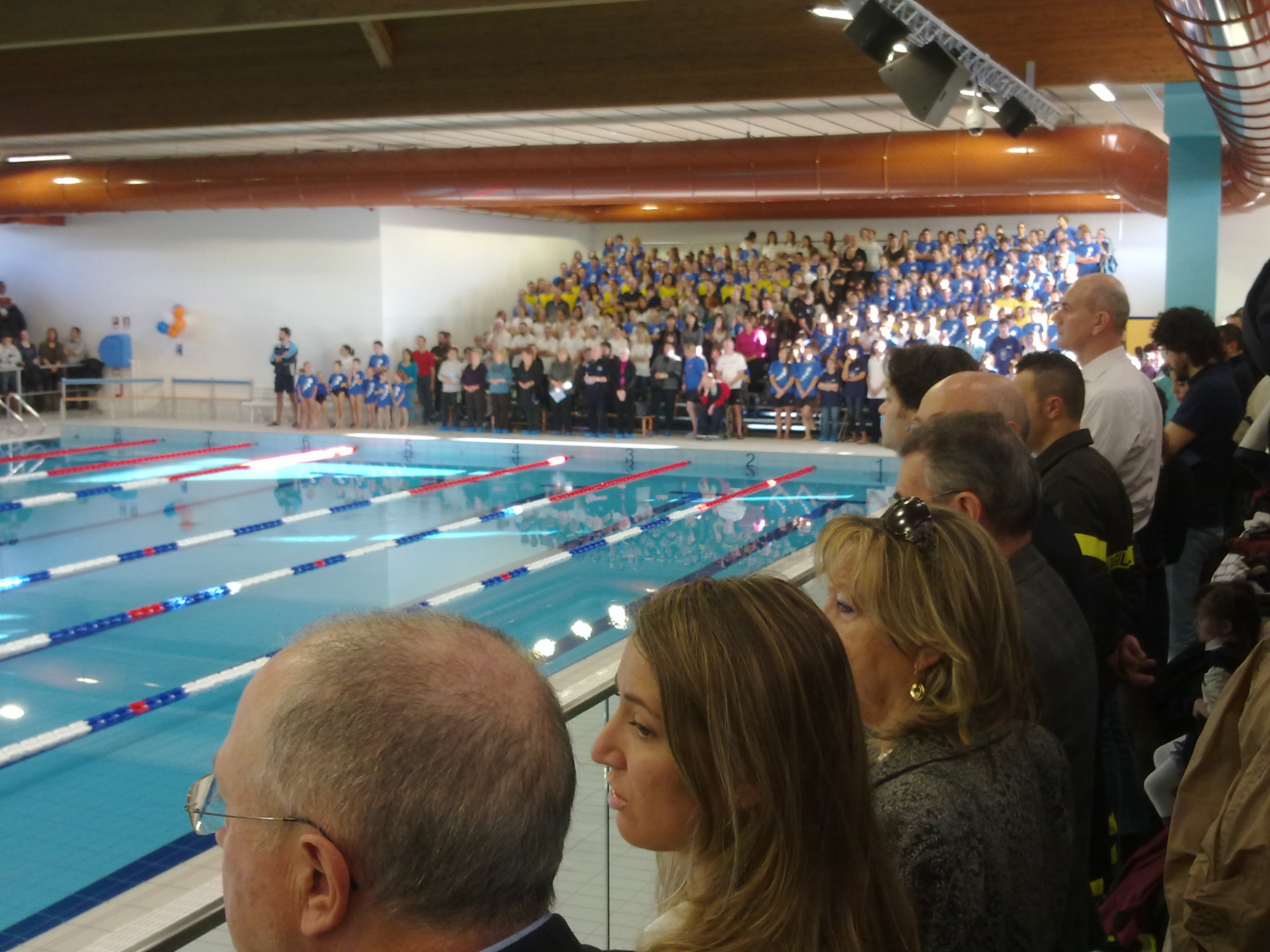inaugurazione nuova piscina di montebelluna asd