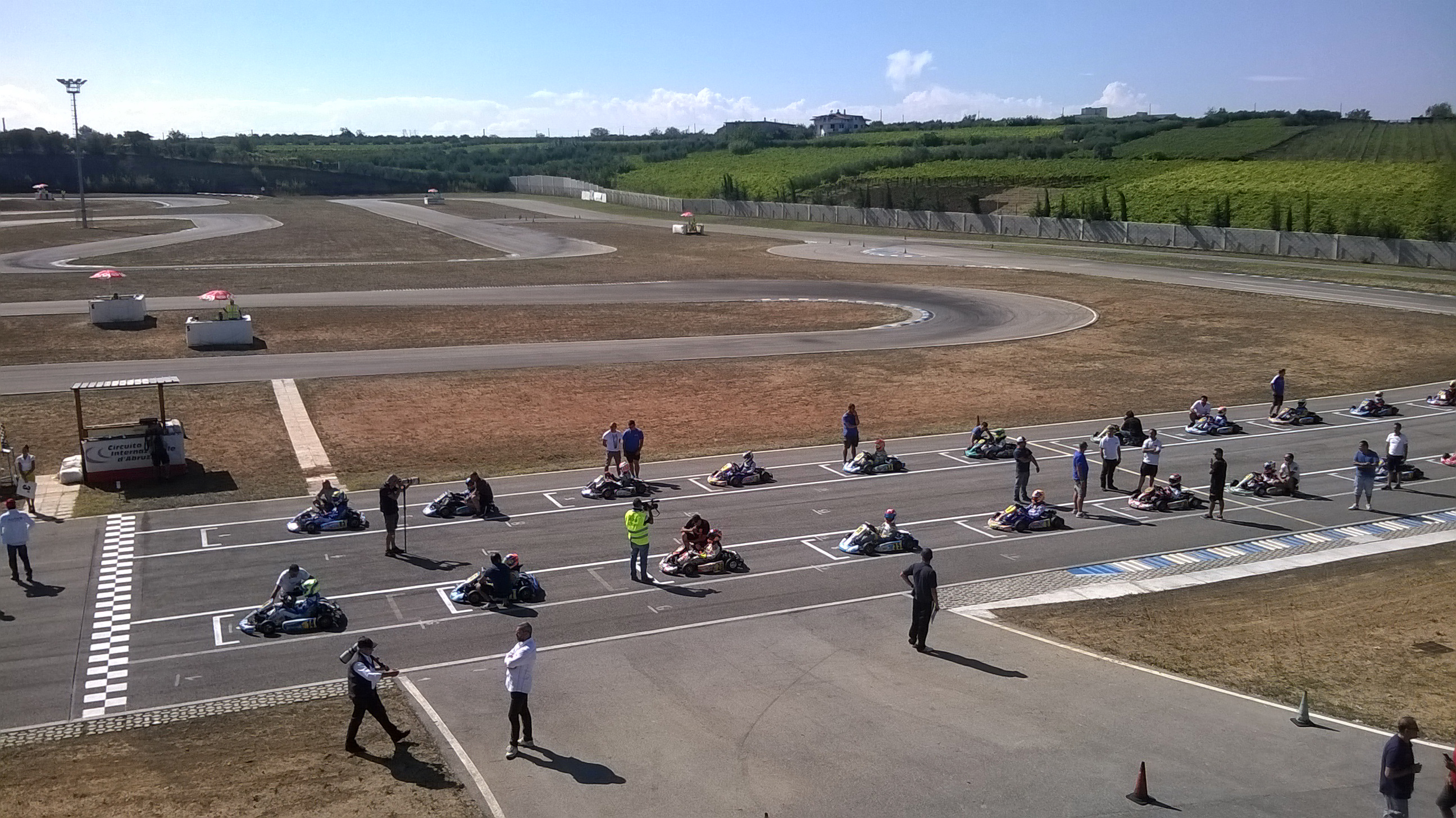 Circuito Ortona : Campionato italiano karting a prova settembre