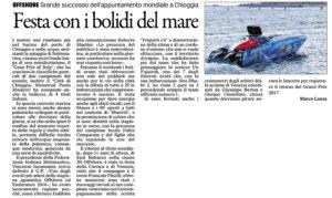gazzettino-21-09-2016 offshore chioggia